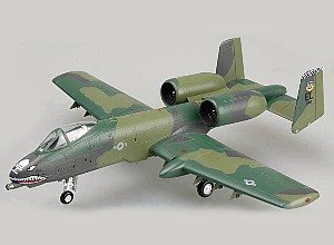Easy Model 1:72 Scale A-10A Thunderbolt Warthog 23rd TFW England AFB,1990 Model Kit by Easymodel