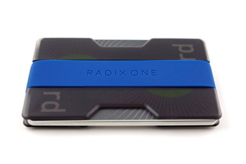 Radix One Slim Wallet (Smoke/Dark Blue)