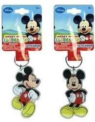Disney Mickey Mouse Keychain- Lucite Shaped Key Chain