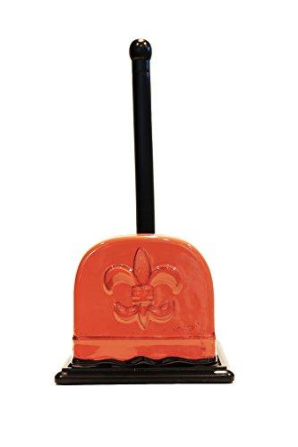 - Tuscany Fleur De Lis Collection, Napkin & Paper Towel Holder in Burnt Orange, 82077