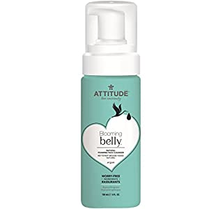 Attitude Natural Foaming Face Cleanser, Fragrance Free, 5 Fluid Ounce