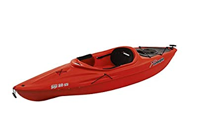 SUNDOLPHIN Fiji 10 SS Sit-in Recreational Kayak - Red
