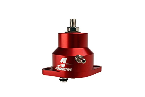 - Aeromotive 13102 Adjustable Billet Fuel Pressure Regulator