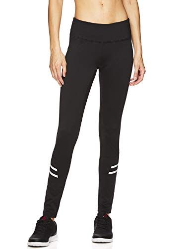 Reebok Running Tights - Reebok Women's Legging Full Length Performance Compression Pants - Formula Black, Small