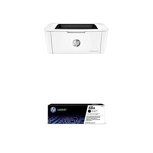 HP LaserJet Pro M15w Wireless Laser Printer (W2G51A) with Black Toner