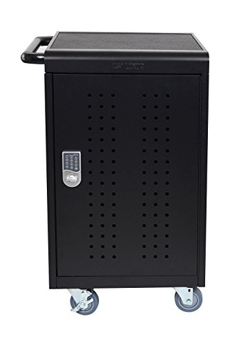 Luxor LLTM30-B-KP 30 Tablet/Chromebooks Charging Cart with Programmable Keypad Lock by Luxor (Image #1)