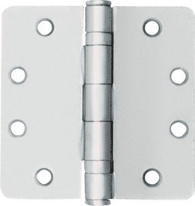 CRL Satin Chrome Non-Removable Pin Standard Weight 1/4