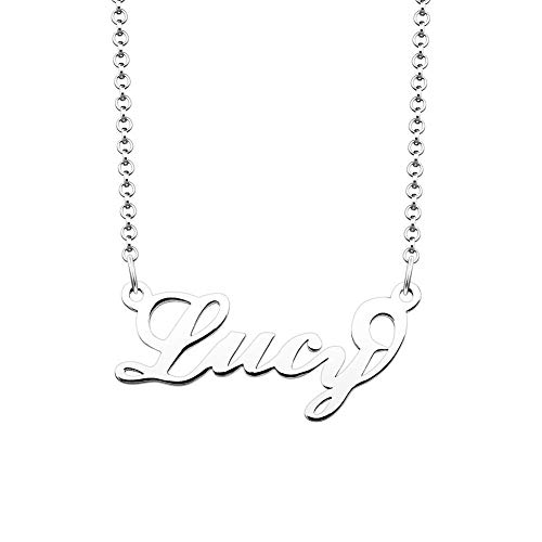 JewelryJo 925 Sterling Silver Personal Name Necklace for sale  Delivered anywhere in USA