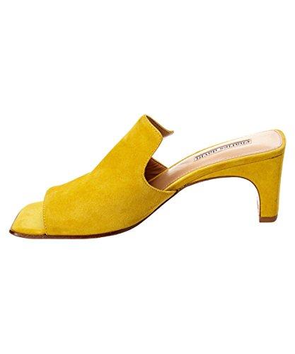 David Women's Charles Herald Slide Yellow Sandal RZxHOwzHq