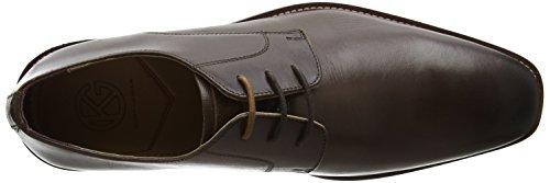 KG by Kurt Geiger 0179830109, Zapatos Derby Hombre Marrón (Brown)