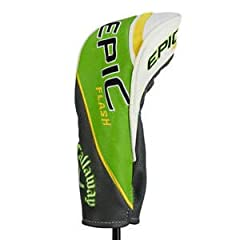 New Callaway Epic Flash OEM Fairway Headcover Brand: Callaway Style: Epic Flash Size Fairway Color: Grey/Lime/White Condition: New Comes with a rotating # dial