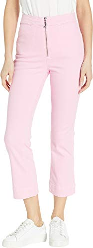 Juicy Couture Women's Denim Crop Flare Jeans w/J Pull Bikini Pink 26 25 ()