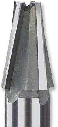 GENERICS LSB-Werkzeuge, Fasenfräser Spiralnut Typ Wolfram Stahlschneider Schweißen Fräsen mit Kegelwinkel Verarbeitung (Farbe : SWA11.1X1.85X28LX10d)