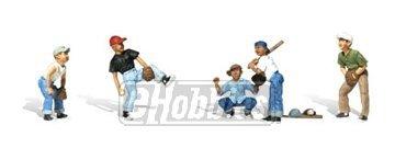 N Baseball Players I Woodland Scenics