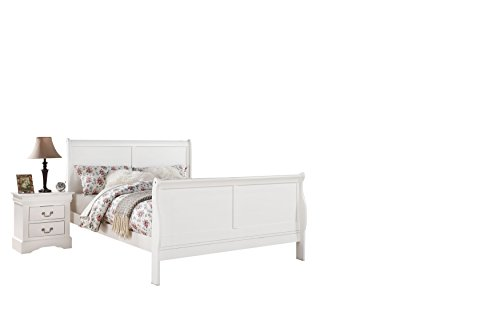 Acme Furniture 24500Q Louis Philippe III Bed, Queen, White