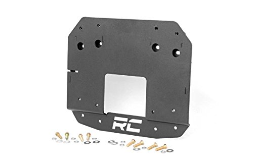 Rough Country 10526 - Spare Tire Relocation Bracket for 2018 Jeep Wrangler (Spare Tire Adapter)