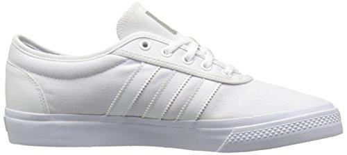 Adidas Mænds Adi-lethed Snøre Sneaker Hvid / Hvid / Sort CBKoWZLs