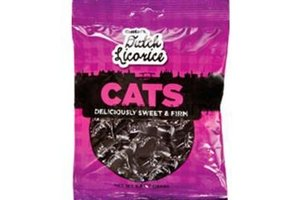 Licorice Imported - Gustaf's Traditional Dutch Licorice Cats, 5.2 oz Retail Bag
