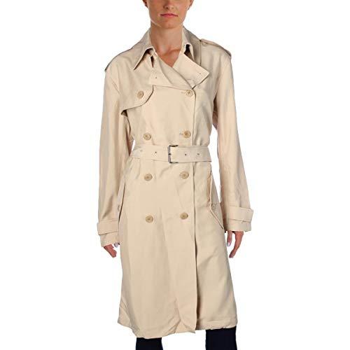 Ralph Lauren Lauren Twill Trench Coat (Pale Wheat, XL)
