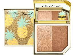 Too Faced Tutti Frutti Pineapple Paradise Strobing Bronzer Highlighting Duo – LIMITED EDITION