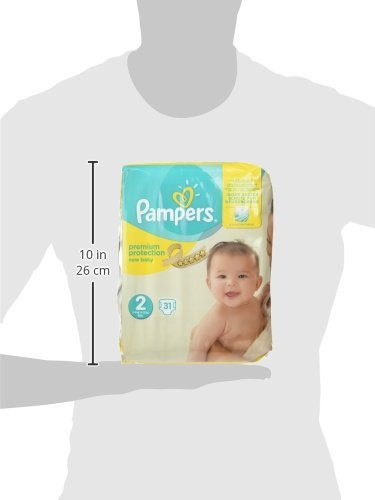 Pampers New Baby Couches Taille 2 4 8 Kg Pack Small X31