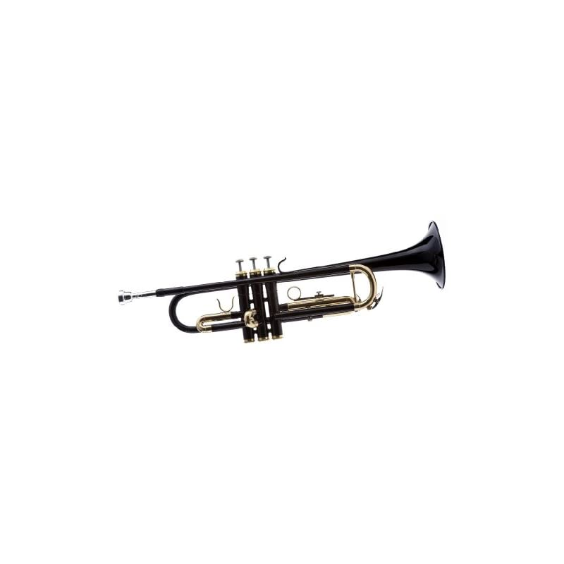 Hawk WD-T314-BK Bb Trumpet with Case and