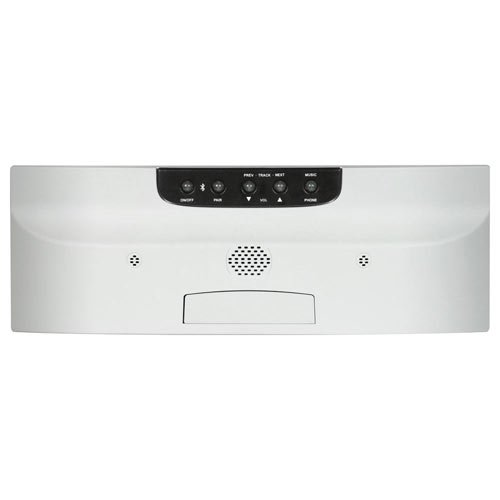 M&S Systems DMCBT Music/Intercom System with Bluetooth Player (White)