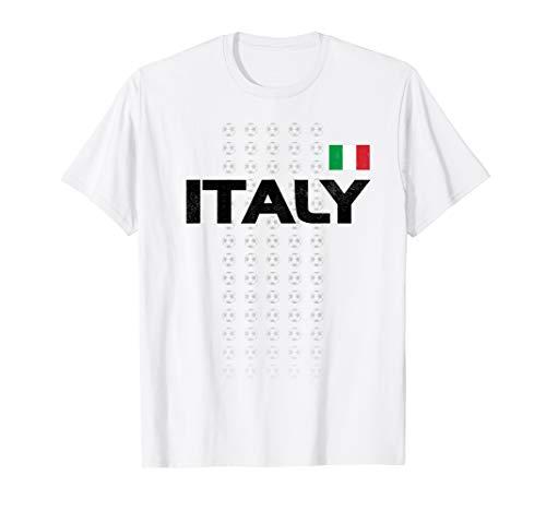 Italy Soccer Shirt - Italian National Team Fan Top Calcio