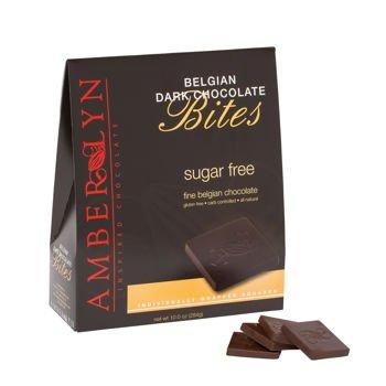 Amber Lyn Dark Chocolate Tasting Bites - Sugar Free (10oz bag) - Amber Chocolate