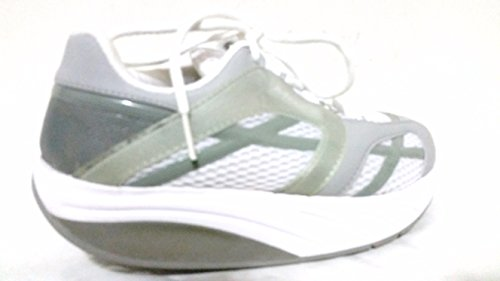 - MBT Women's M.Walk Silver Walking Shoes 6.5 M