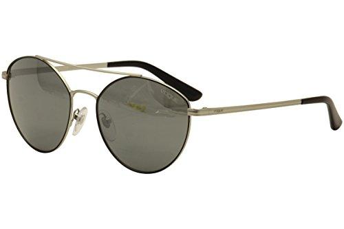 Vogue Eyewear Womens Sunglasses (VO4023) Silver/Grey Metal - Non-Polarized - - Frames Vogue For Women