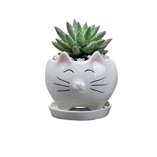 Yardwe-1PCS-Cat-Flower-Pots-Creative-Succulent-Planter-Pots-Mini-Ceramic-Plants-Containers-for-Home-Office