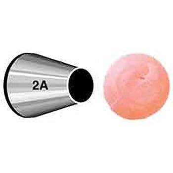 Wilton 402-2001 No. 2A Round Decorating Tip, Multicolor