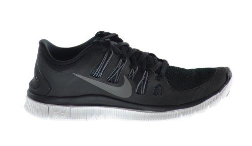 Nike Free 5,0+ Zapatillas de correr para hombres negro/metálico gris oscuro/blanco 579959–002