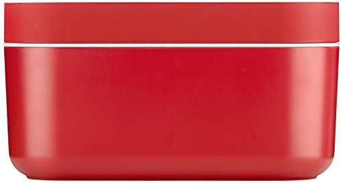 Lekue Ice Box Container with Cover, Red