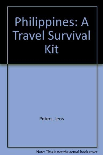 A Travel Survival Kit Philippines Lonely Planet Travel Survival Kit By Jens