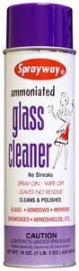 Ammoniated Glass Cleaner - Case:12