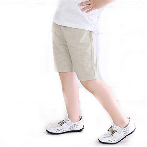 - Summer Baby Boys Shorts Cotton Trousers Pants Girls Shorts Kids Solid Clothing(as Photo,4T)