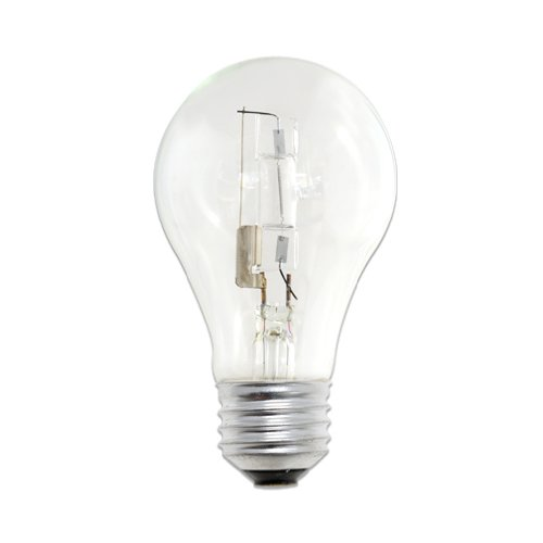 Bulbrite 860622 72 W Dimmable A19 Shape Halogen Bulb ((E26) Base with Medium Screw, 12 Pack, Clear