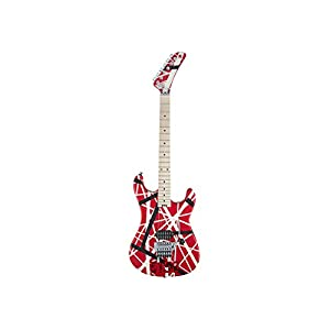 EVH Stripe 5150 Red – Red / Black + White Stripes