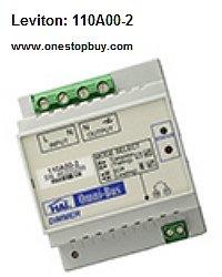 Leviton 110A00-2 Omni-Bus Universal Dimmer DIN Rail Module