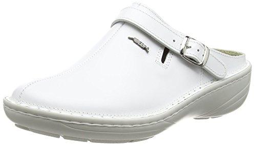 Abeba 6803–�?6Reflexor Comfort Schuhe Blitzschuh, Weiß, 6803-38