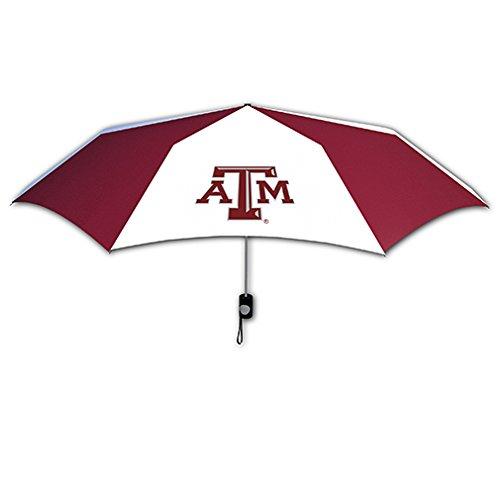 NCAA Texas A&M Aggies 42-Inch Folding Umbrella - Texas Tailgate Golf