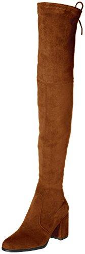 Kaitlyn Pan Block Heel Microsuede Slim fit Over The Knee Boots