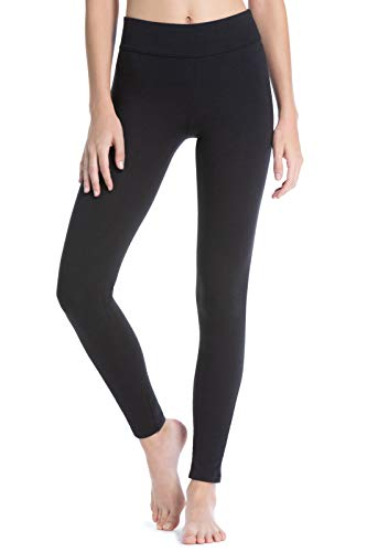 - Fishers Finery Women's Ecofabric Athletic Yoga Ankle Legging (Black, M Tall)