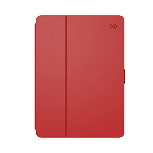 Speck Products 91905-6055 Balance FOLIO Case and Stand for 10.5 iPad Pro (2017) with Magnets, Dark Poppy Red/Velvet Red