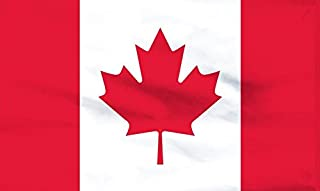 product image for Nylon Canadian Flag - Factory Second (Sewn Stripes & Center) - Made in The USA (4 by 6 Foot)