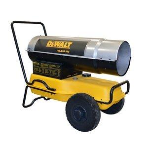 DeWalt DXH135KT Kerosene Heater, 135K BTU