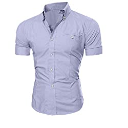 Men's Casual Short Sleeve Shirt