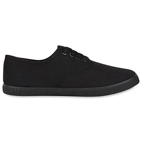 Black Schuhe Freizeit napoli Stoffschuhe Jennika Sneakers Schwarz Damen fashion qHcw8AR